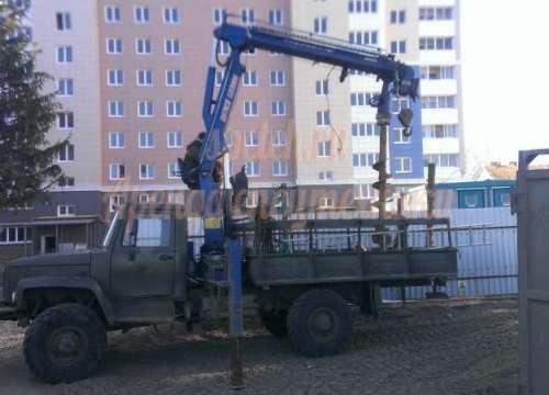 Hotomi buer на ГАЗ 33081(4х4)